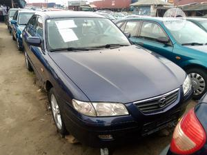 Mazda 626 2002 Blue   Cars for sale in Lagos State, Apapa