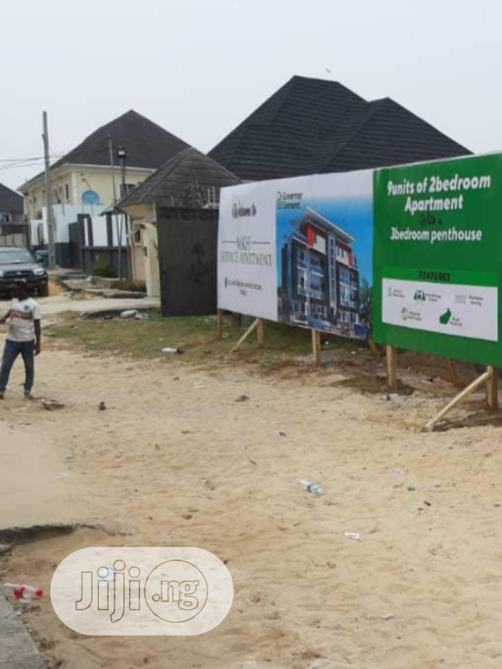 Luxurious 3 Bedroom Penthouse In Sangotedo | Houses & Apartments For Sale for sale in Sangotedo, Ajah, Nigeria