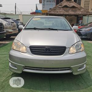 Toyota Corolla 2004 S Silver   Cars for sale in Lagos State, Ilupeju