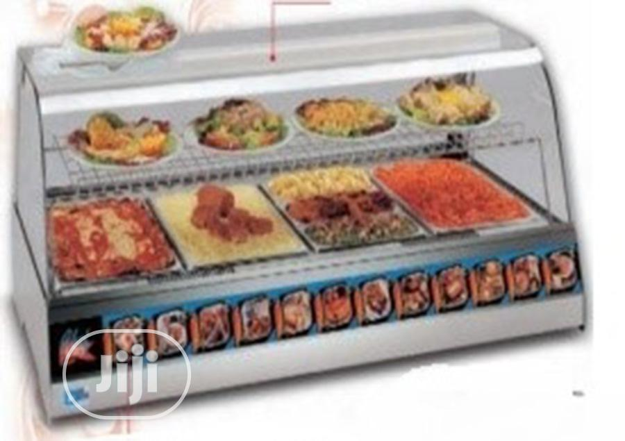 Archive: Industrial Display Warmer 4 Tray / 4 Rack (Made in Italy)
