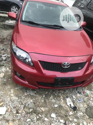 Toyota Corolla 2009 Red | Cars for sale in Lagos State, Lekki