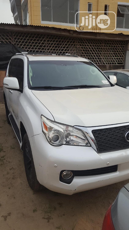 Lexus GX 2011 460 Premium White   Cars for sale in Amuwo-Odofin, Lagos State, Nigeria