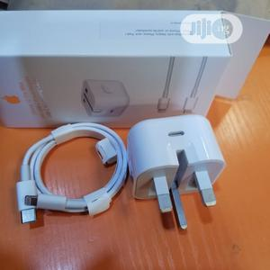 Fast Charger iPhone 12 Pro Max 20w USB C Power Adapter | Accessories for Mobile Phones & Tablets for sale in Lagos State, Ikeja