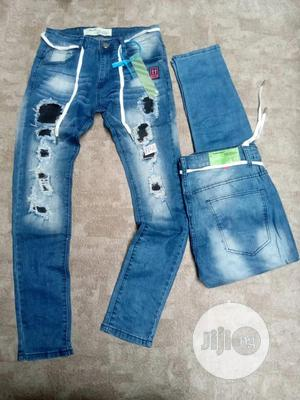 Jeans Off White   Clothing for sale in Lagos State, Victoria Island
