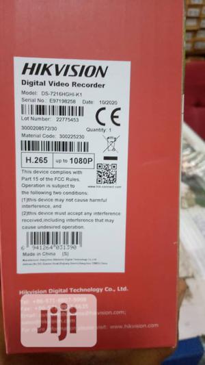 Hikvision 16 Channels DVR DS-7216HGHI-KI -Black | Security & Surveillance for sale in Lagos State, Ikeja