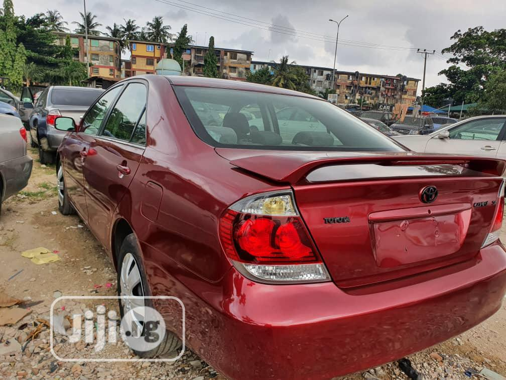 Archive: Toyota Camry 2004 Red