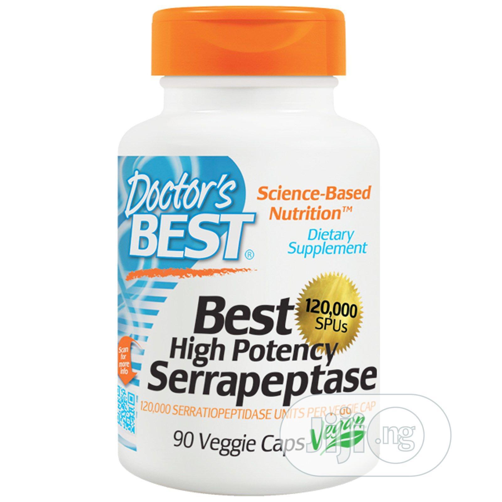 Archive: 1 Doctor's Best High Potency Serapeptase 120000spu