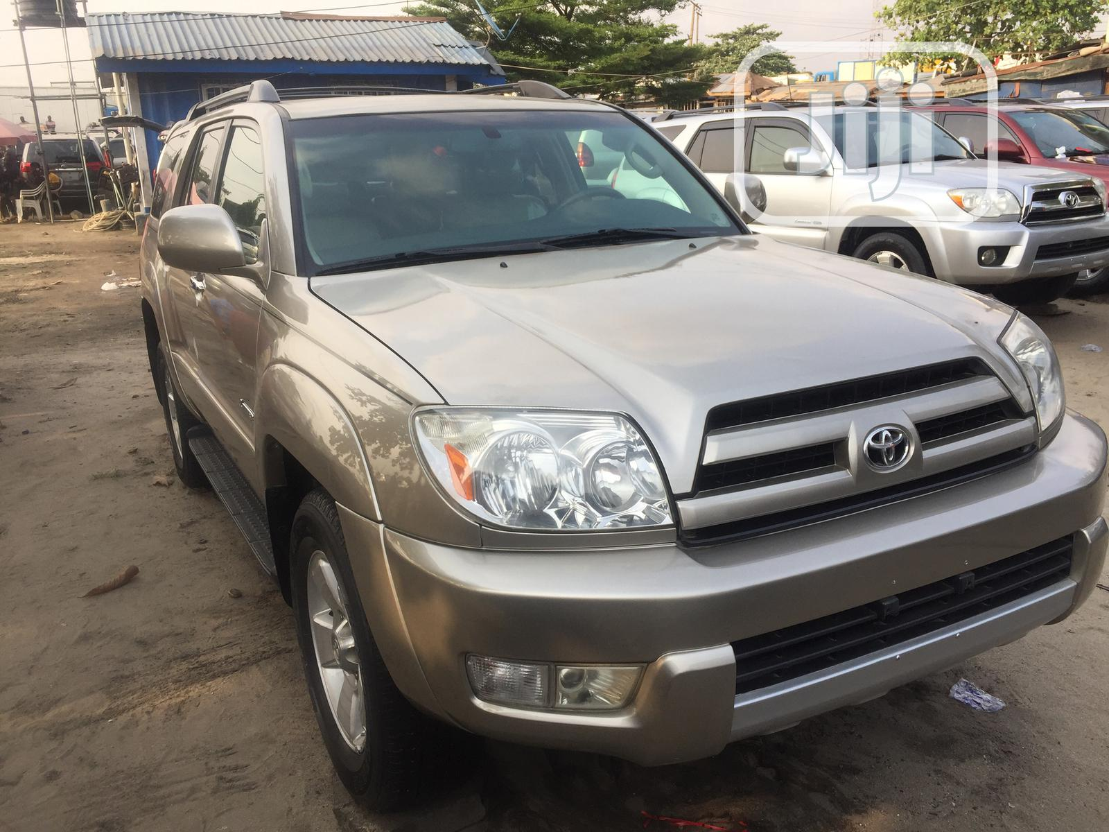 Toyota 4-Runner 2005 Limited V6 Gold | Cars for sale in Apapa, Lagos State, Nigeria