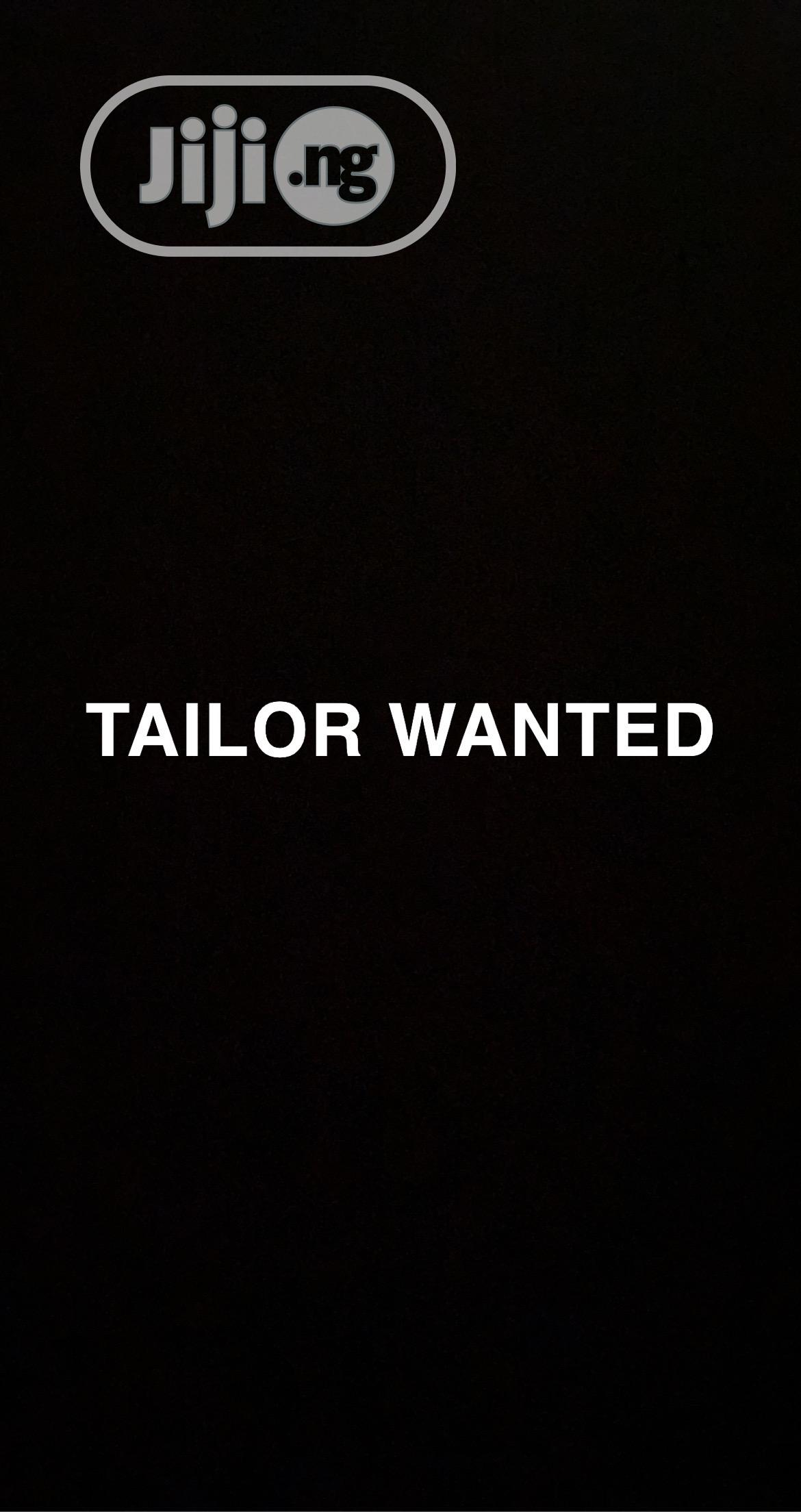 Archive: Tailor Wanted