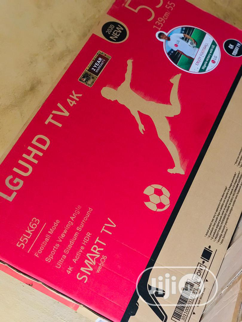 Archive: 55 Inches Smart LG Television