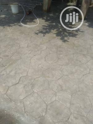 Decorative Stamp Concrete | Landscaping & Gardening Services for sale in Lagos State, Ikoyi