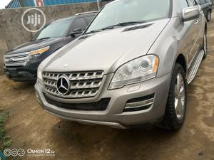 Mercedes-Benz M Class 2009 ML350 AWD 4MATIC Silver   Cars for sale in Lagos State, Oshodi