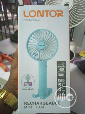 Lontor Rechargeable Mini Fan | Home Appliances for sale in Lagos State, Shomolu
