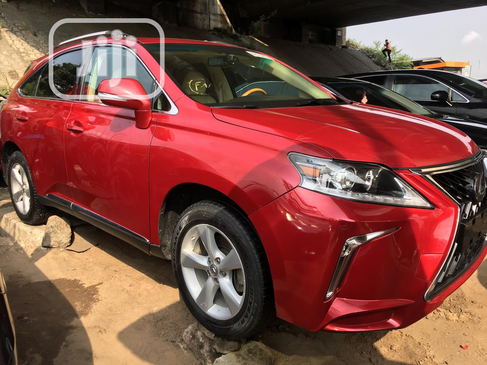 Lexus RX 2012 350 AWD Red   Cars for sale in Apapa, Lagos State, Nigeria