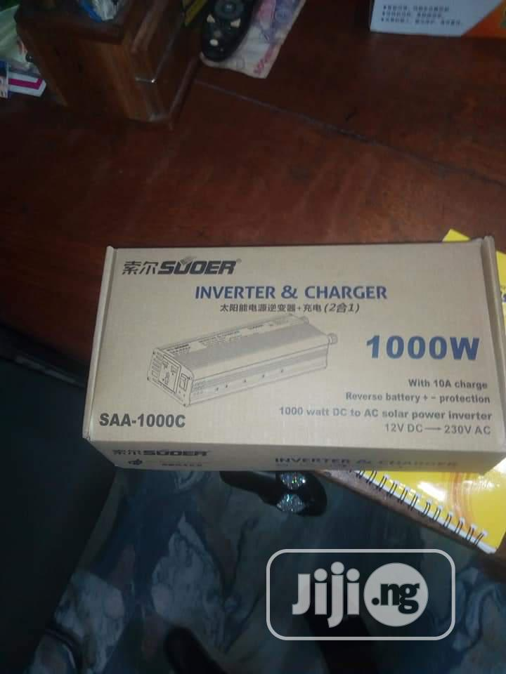 1000watts Sower Sachet Inverter With Charger