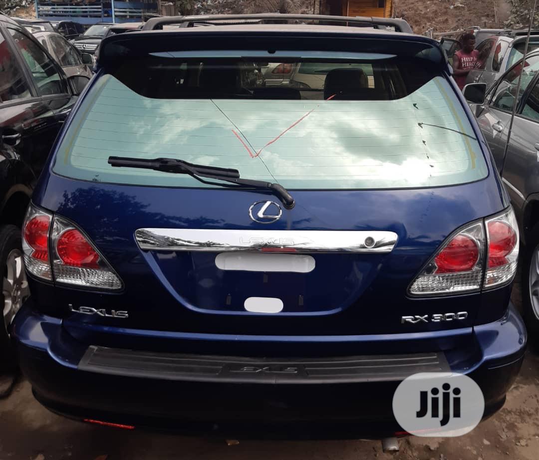 Lexus RX 2003 Blue | Cars for sale in Apapa, Lagos State, Nigeria