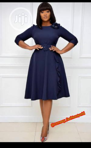 Trendy Ladies Quality Turkey Flare Gown   Clothing for sale in Lagos State, Ikeja