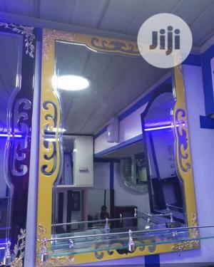 Gold Design Mirror   Home Accessories for sale in Lagos State, Orile