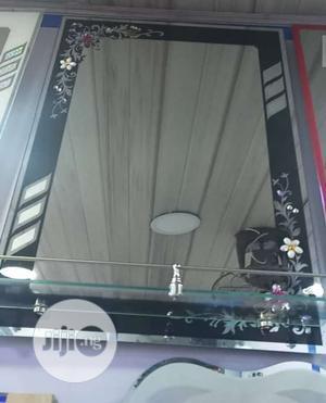 Black Design Mirror | Home Accessories for sale in Lagos State, Orile