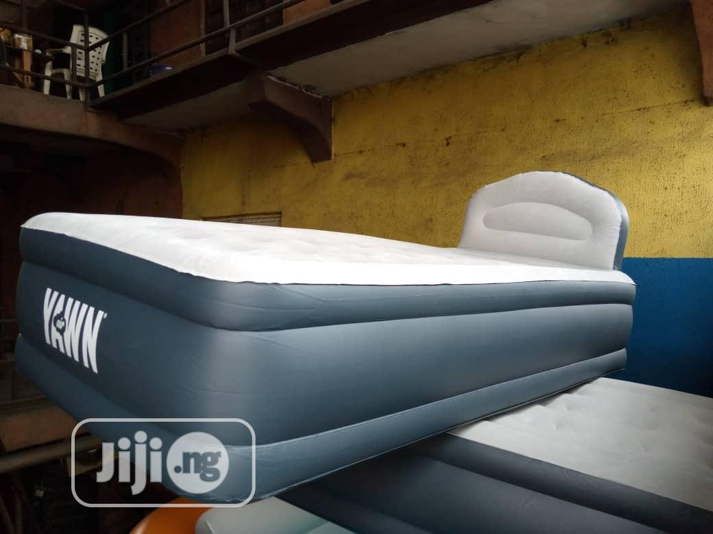 Archive: Inflatable Single Air Bed(Headboard) 18 Inches