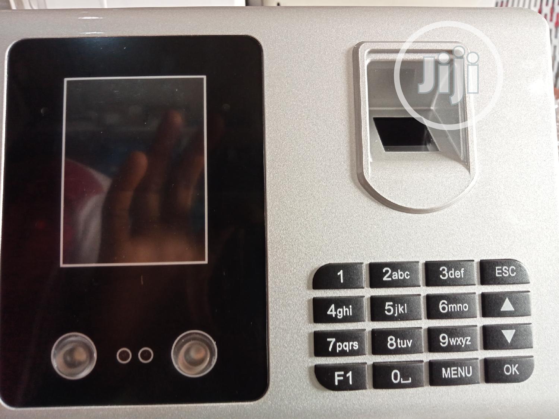 Face And Fingerprint Time Attendance Machine