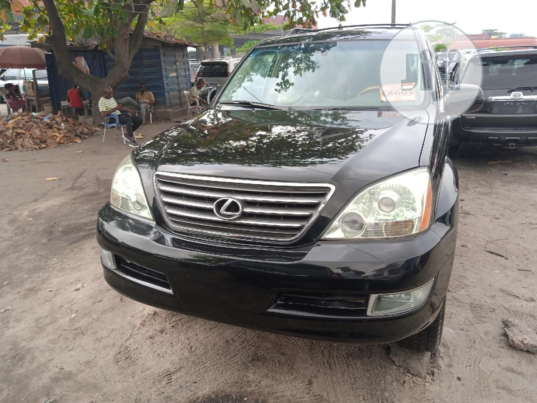 Lexus GX 2007 470 Black | Cars for sale in Apapa, Lagos State, Nigeria