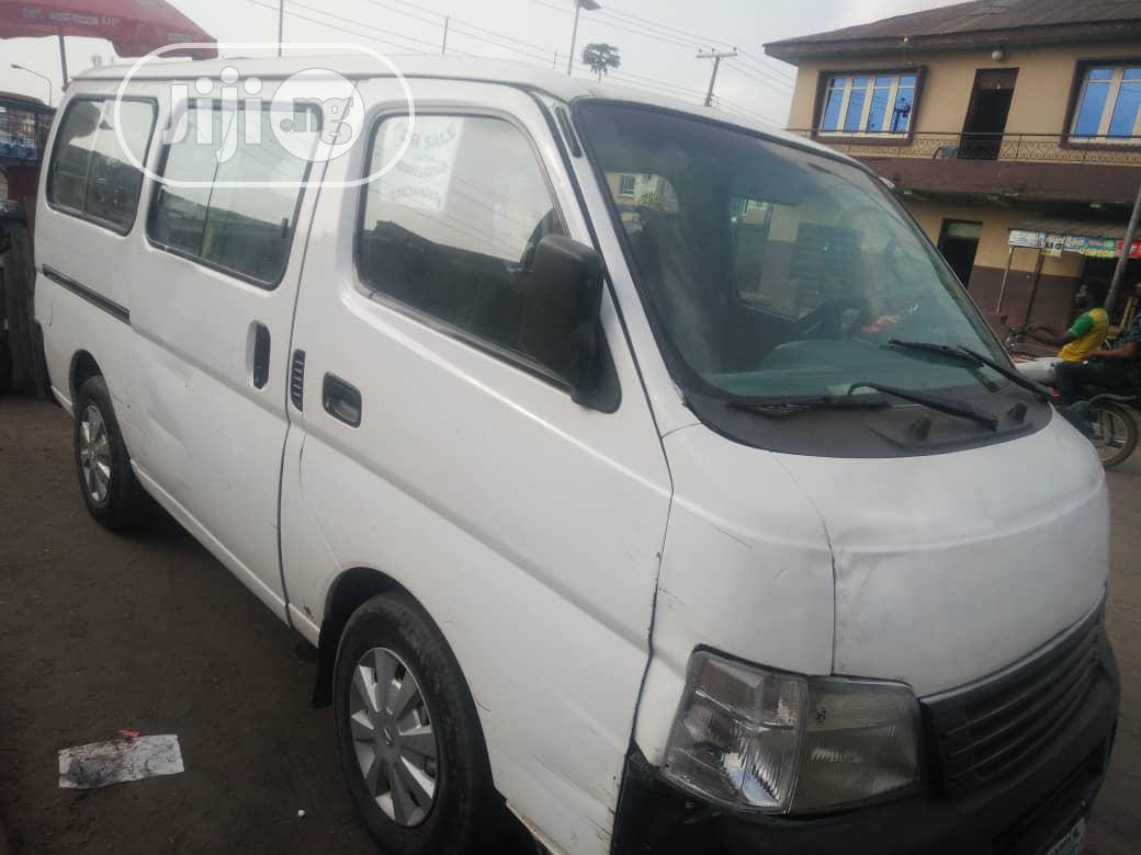 A Year Used Automatic Nissan Urvan 2011 White