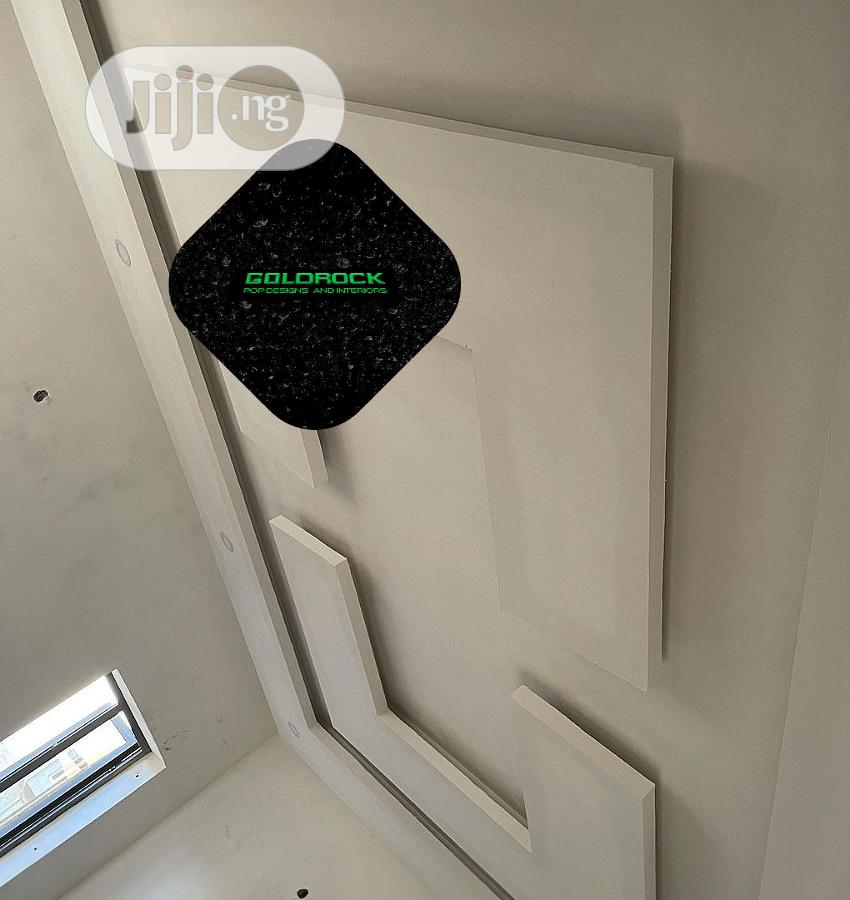 Archive: POP Ceiling, Wall Screeding, Window Hoods, TV Stand