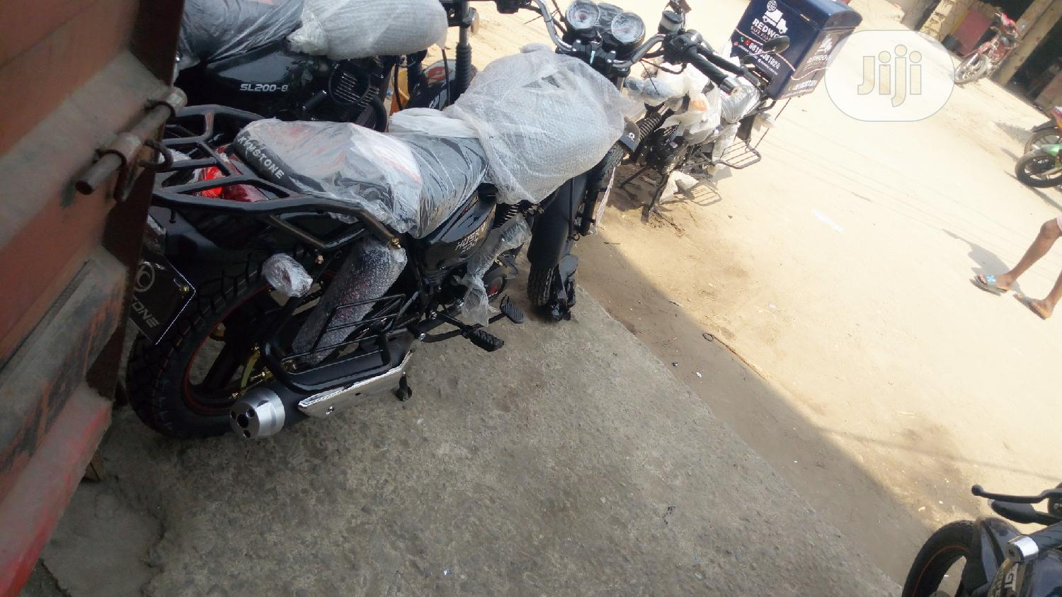New Kymstone Husky 2020 Black | Motorcycles & Scooters for sale in Yaba, Lagos State, Nigeria