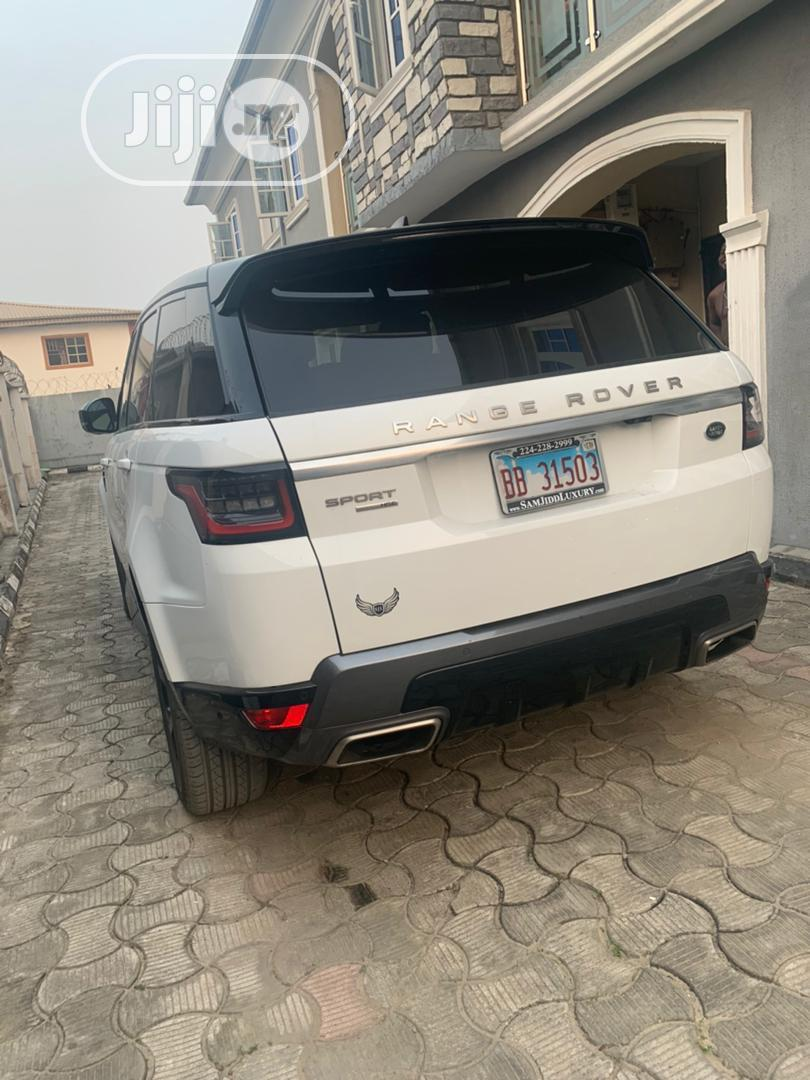 Land Rover Range Rover Sport 2019 HSE White | Cars for sale in Lekki, Lagos State, Nigeria