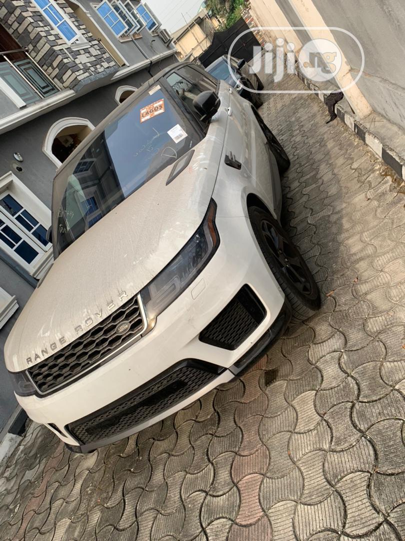 Land Rover Range Rover Sport 2019 HSE White