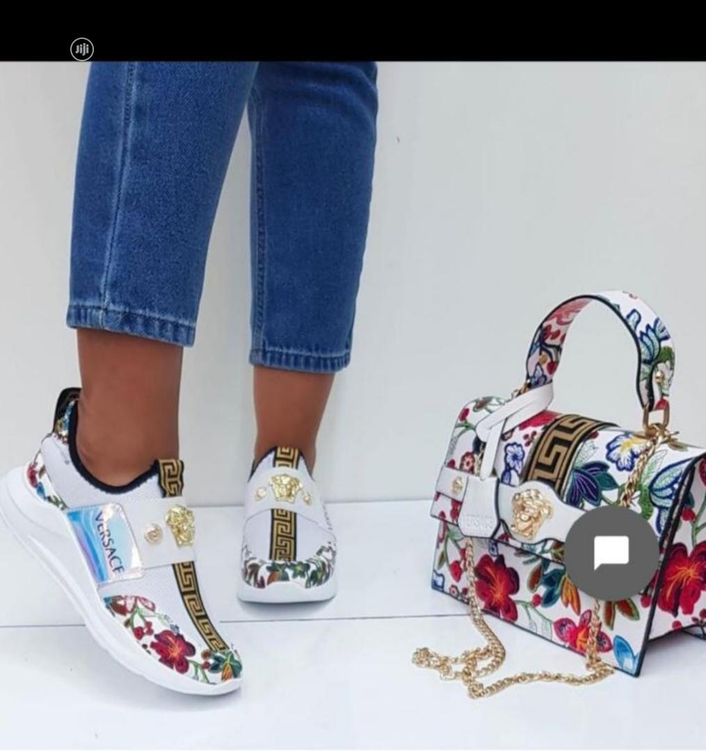 Archive: Original Givenchy Sneakers And Handbag Available As Seen