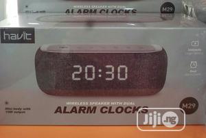Havit M29 Wireless Speaker Dual Alarm Clocks. | Audio & Music Equipment for sale in Lagos State, Ikeja