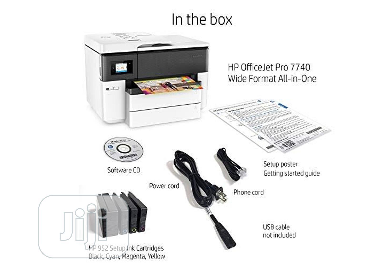 HP Officejet 7720 Wide Format | Printers & Scanners for sale in Lagos Island (Eko), Lagos State, Nigeria