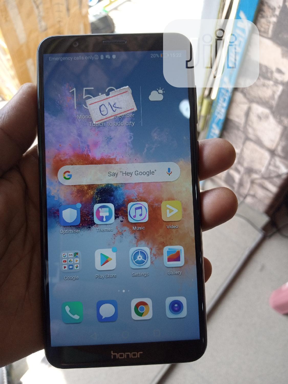 Huawei Honor 7X 64 GB Black   Mobile Phones for sale in Ikeja, Lagos State, Nigeria
