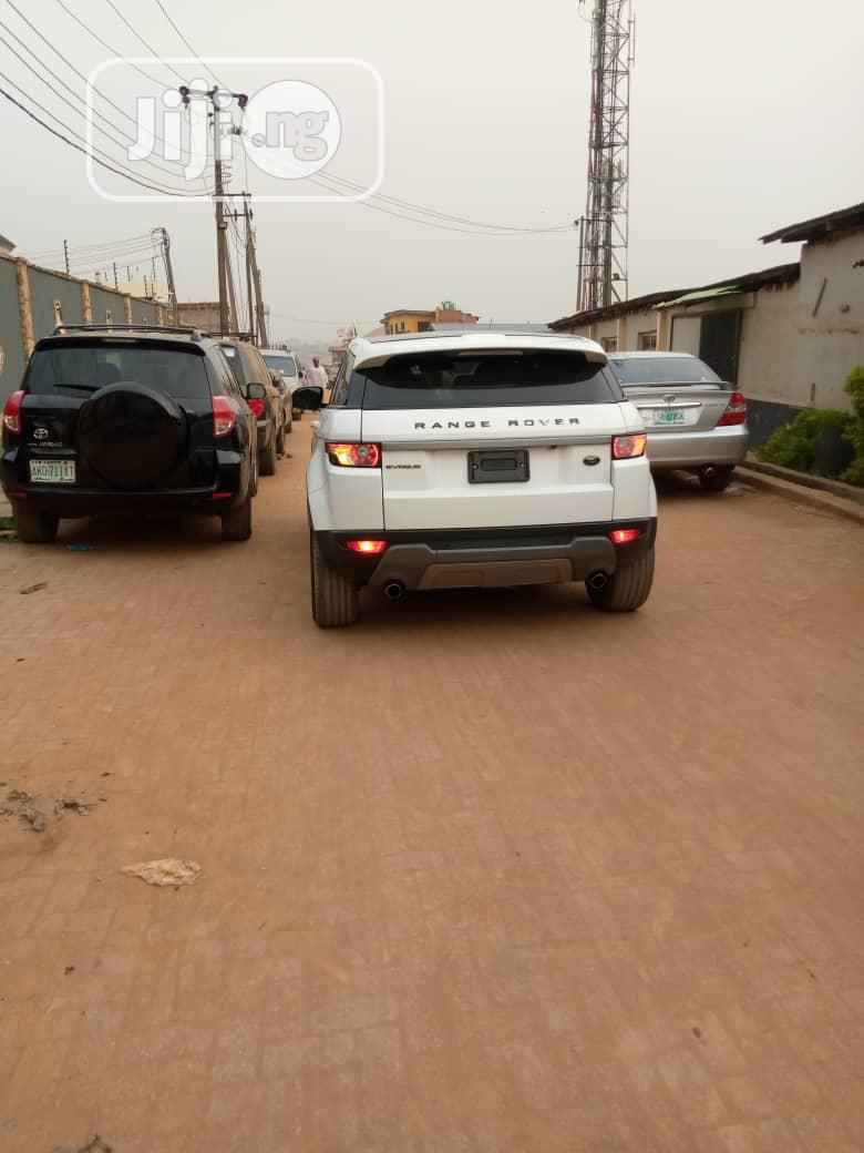 Land Rover Range Rover Evoque 2013 Pure Plus AWD White | Cars for sale in Ikeja, Lagos State, Nigeria