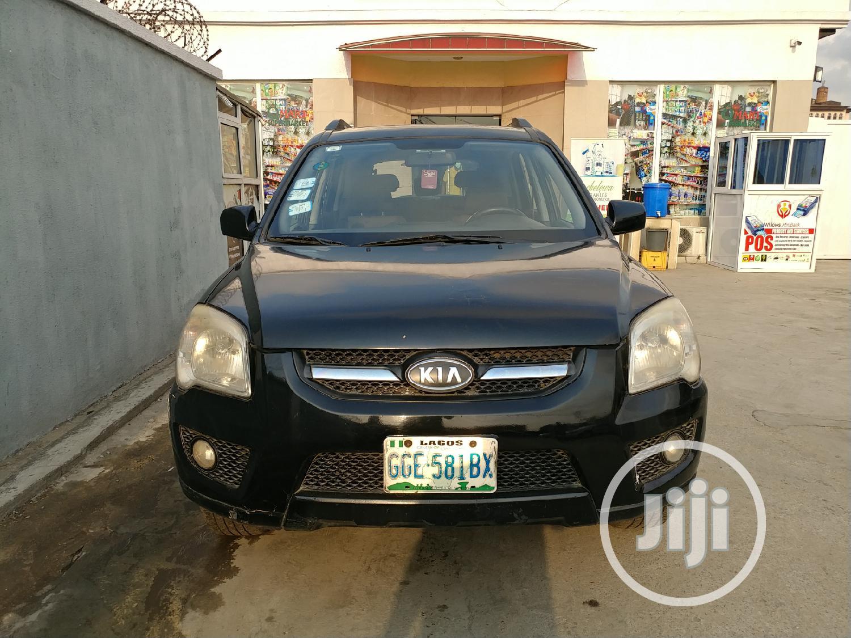 Kia Sportage 2010 Black | Cars for sale in Yaba, Lagos State, Nigeria