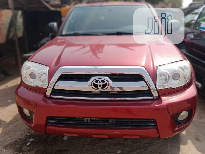 Archive: Toyota 4-Runner 2006 SR5 4x4 V6 Red