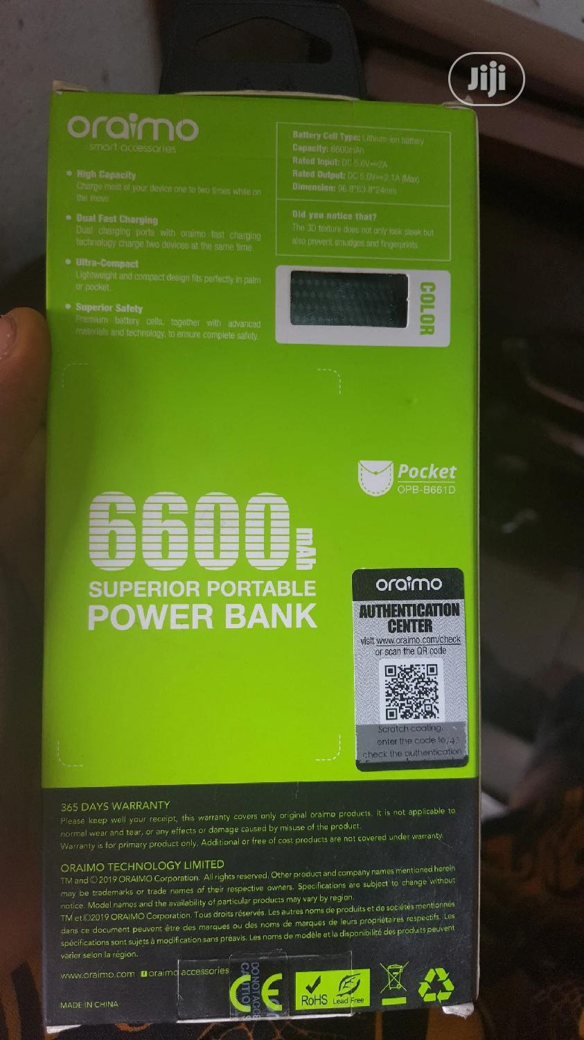 Oraimo Powerbank   Accessories for Mobile Phones & Tablets for sale in Ikeja, Lagos State, Nigeria
