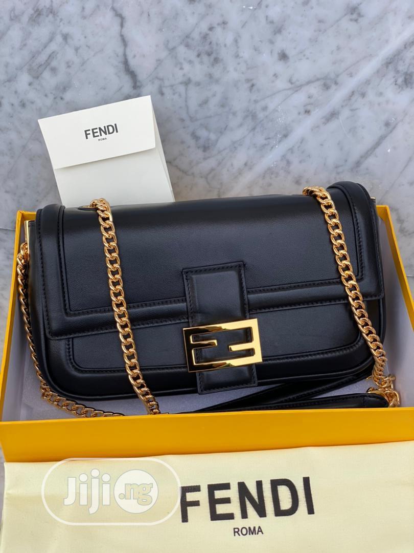 Fendi Leather Handbags