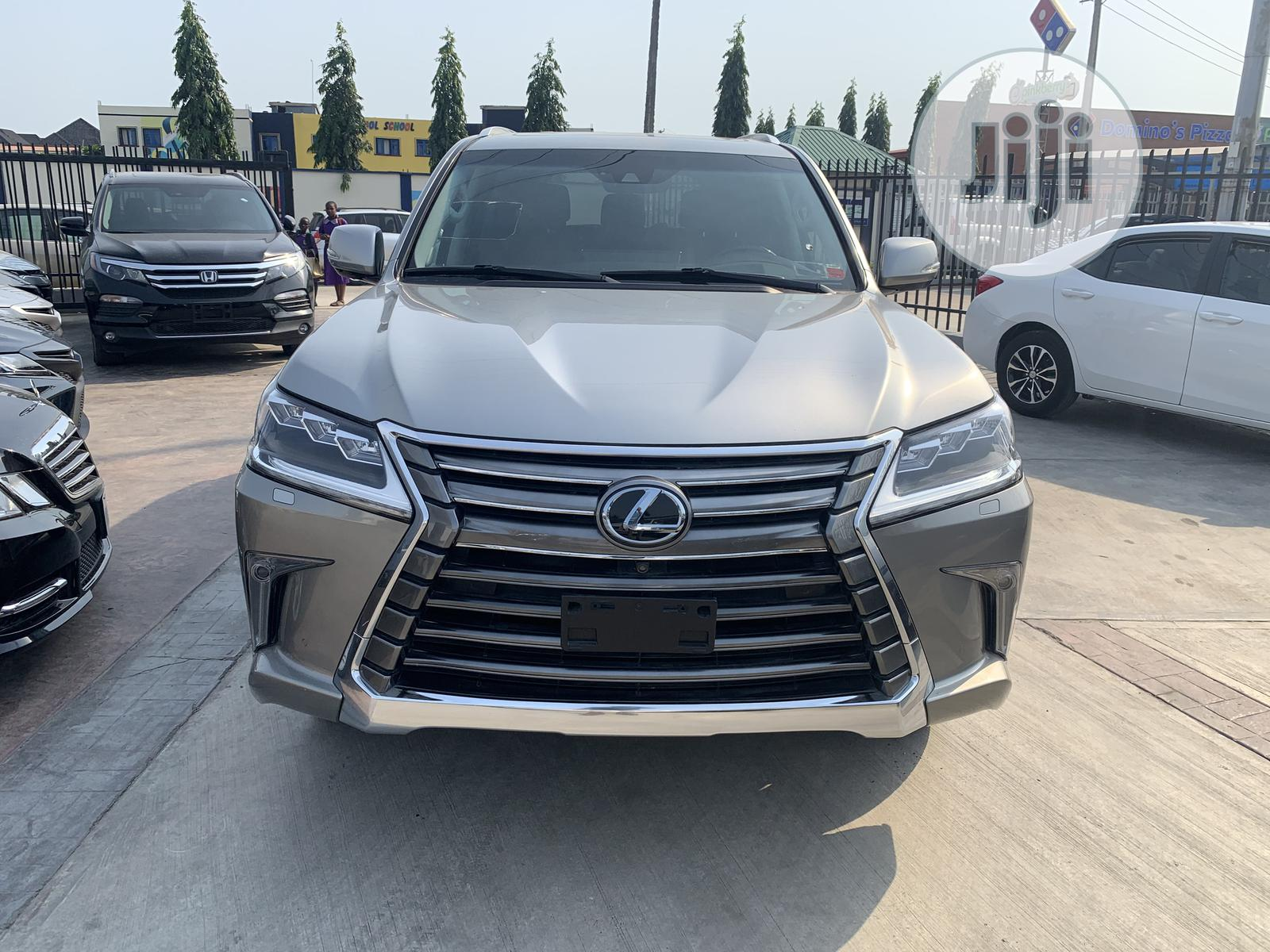 Lexus LX 2018 570 Three-Row Silver