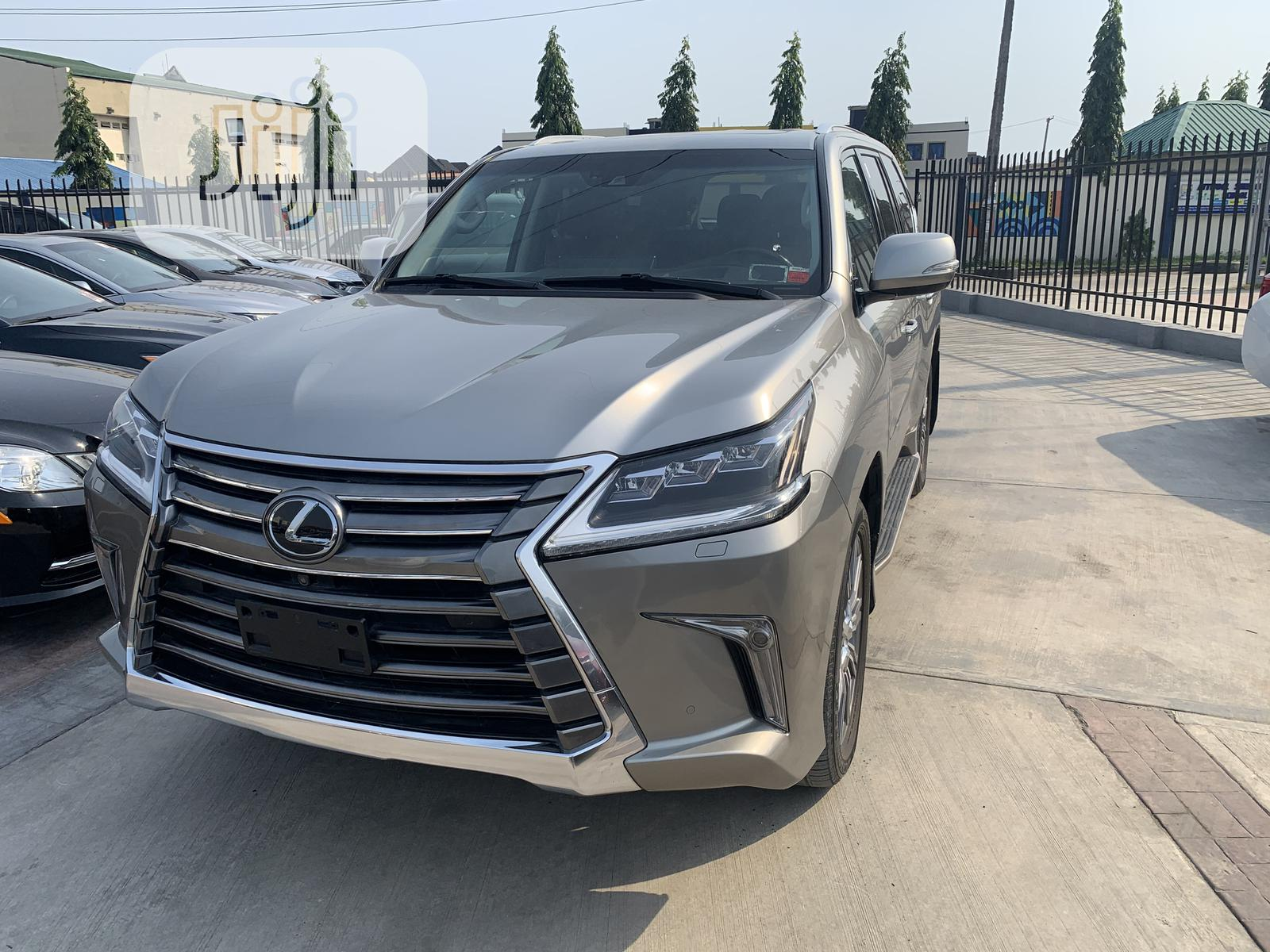 Lexus LX 2018 570 Three-Row Silver | Cars for sale in Lekki, Lagos State, Nigeria