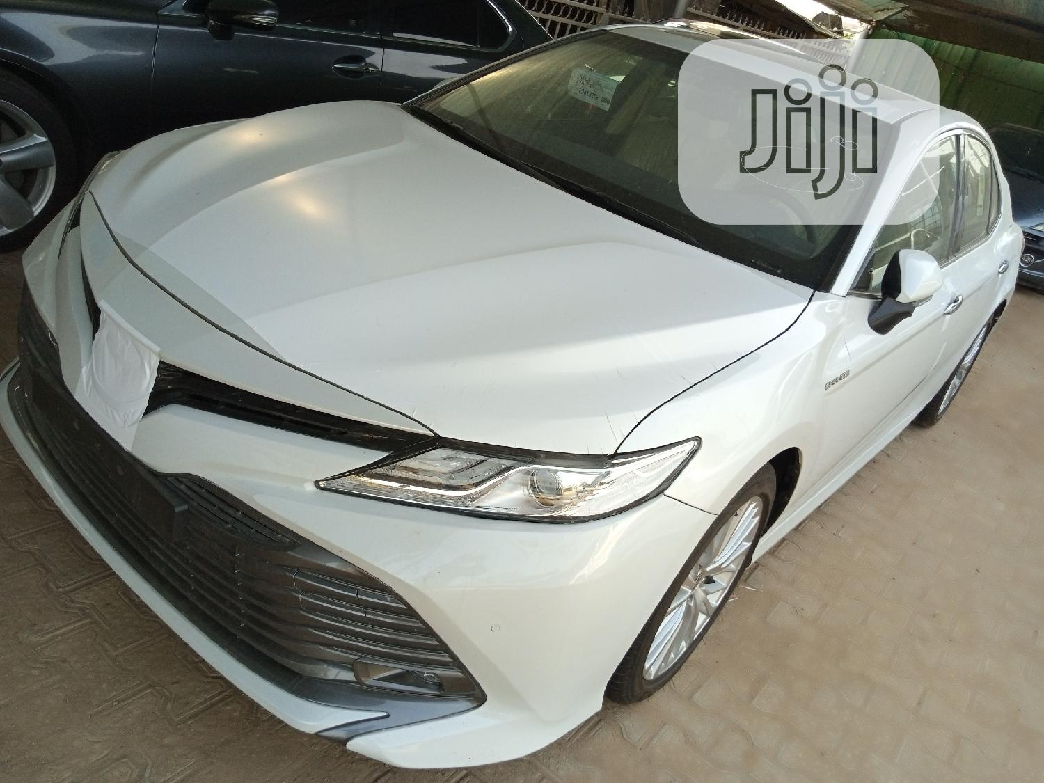 New Toyota Camry 2020 White   Cars for sale in Garki 2, Abuja (FCT) State, Nigeria