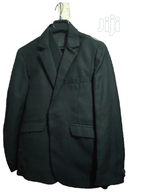 Boys Black 2 Piece Suit