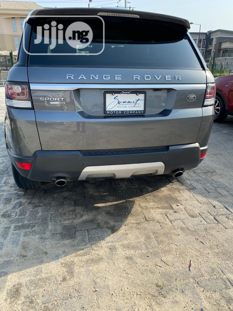 Land Rover Range Rover Sport 2014 HSE 4x4 (3.0L 6cyl 8A) Gray | Cars for sale in Lekki, Lagos State, Nigeria