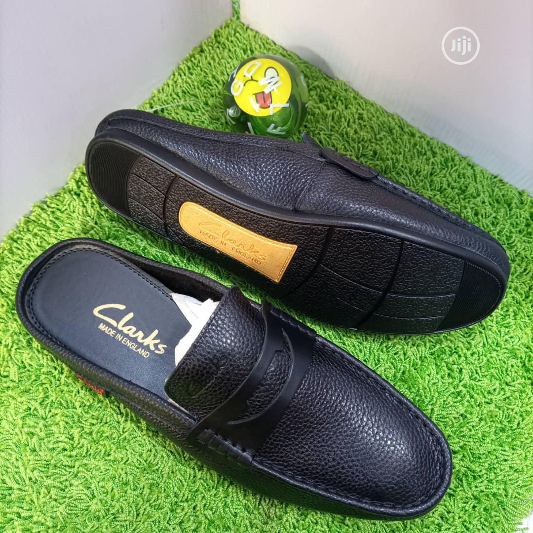 Leather Clarks Half Shoe   Shoes for sale in Victoria Island, Lagos State, Nigeria