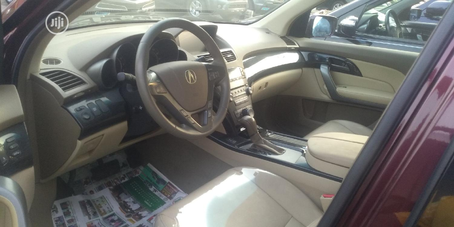 Acura MDX 2008 Red | Cars for sale in Apapa, Lagos State, Nigeria