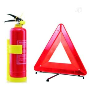 Fire Extinguisher 1kg + C Caution Sign | Vehicle Parts & Accessories for sale in Lagos State, Ikeja
