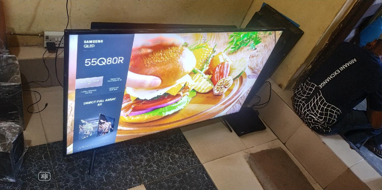 "55"" Samsung QLED Smart Ultra HD 4K LED TV Wifi Bluetooth"