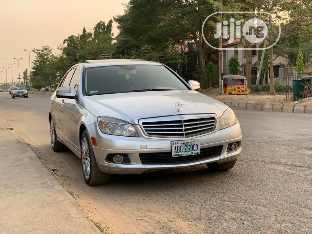Mercedes-Benz C300 2008 Silver | Cars for sale in Gwarinpa, Abuja (FCT) State, Nigeria